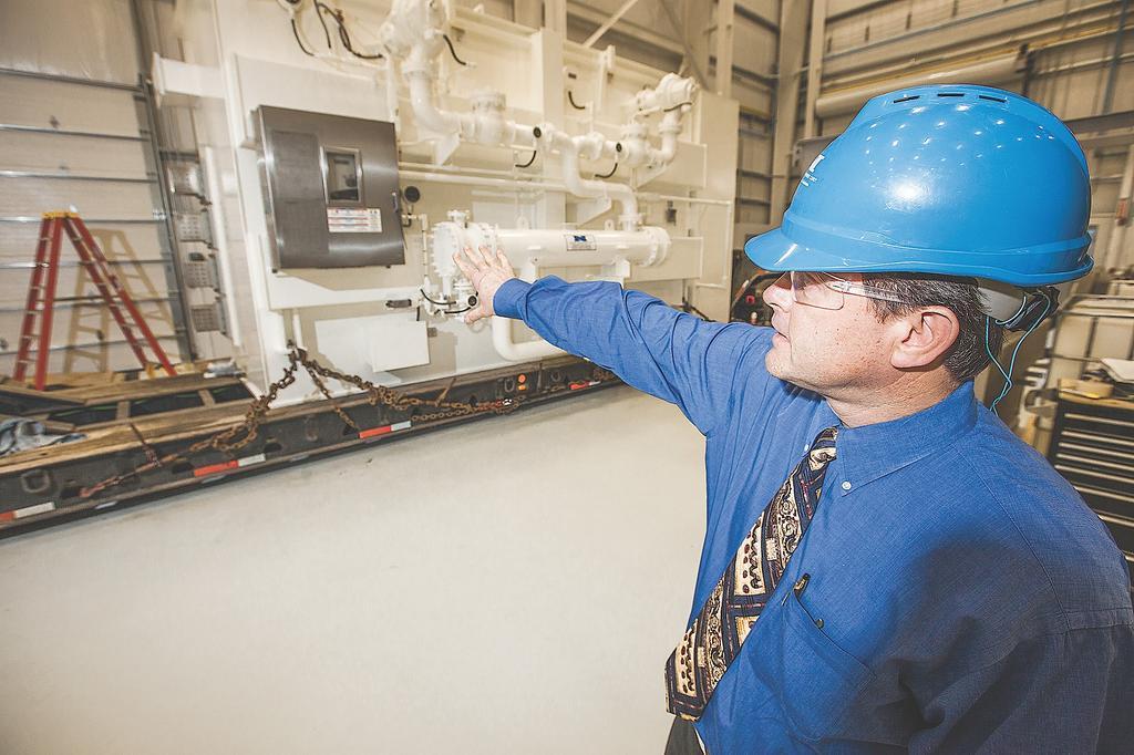 John Darby of Niagara Power Transformer Corp. in Cheektowaga