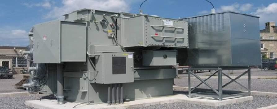 Niagara Power Transformer Corp. power generator for University at Buffalo