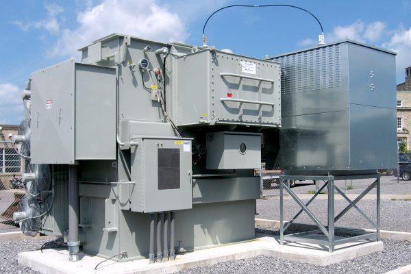 On-load Tap Changing Niagara Power Transformer University at Buffalo NY