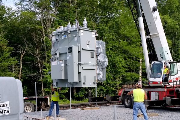 Substation Transformer Installation | Niagara Power Transformer